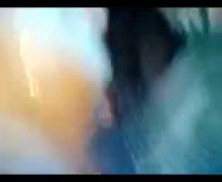 Девушка в красивых трусиках на полу трахается с киргизом