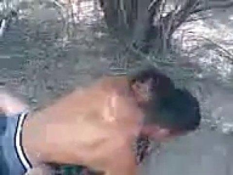 Снимают секс с местной давалкой